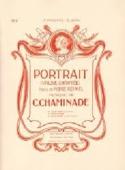 Portrait Cécile Chaminade Partition laflutedepan.com