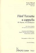 5 Terzette A Cappella Fanny Hensel Partition laflutedepan.com