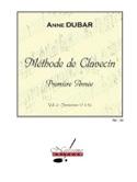 Méthode de Clavecin. Volume 2 Anne Dubar Partition laflutedepan.com