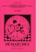Démarches. 1er Cahier Eric Noyer Livre Chœur - laflutedepan.com