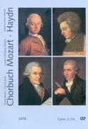 Chorbuch Volume 3. 4 Voix Mixtes MOZART / HAYDN laflutedepan.com