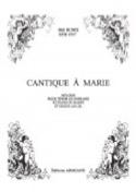Cantique A Marie Op. 122 Mel Bonis Partition laflutedepan.com
