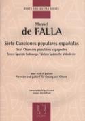 7 Canciones Populares Espanolas. FALLA / PUJOL laflutedepan.com
