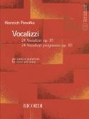 Vocalizzi Opus 81 et 85 - Heinrich Panofka - laflutedepan.com
