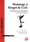 Hommage A Rouget de Lisle Cahier 5 Eric Heidsieck laflutedepan.com