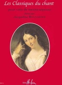 Les Classiques Du Chant. Mezzo - Partition - laflutedepan.com