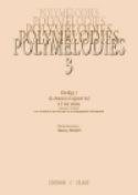 Polymélodies Volume 3 Voix Mixtes Partition Chœur - laflutedepan.com