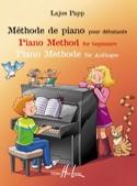 Méthode de Piano pour Débutants Lajos Papp Partition laflutedepan.com