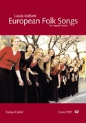 European Folk Songs. Voix Egales Partition Chœur - laflutedepan.com