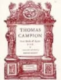 First Book Of Ayres - Thomas Campion - Partition - laflutedepan.com