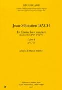 Le Clavier Bien Tempéré Livre 2 Cahier B. Analyse - laflutedepan.com