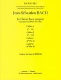 Le Clavier Bien Tempéré Livre 2 Cahier A. Analyse laflutedepan.com