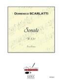 Sonate - Alessandro Scarlatti - Partition - laflutedepan.com