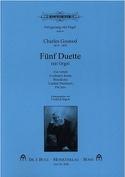 5 Duette Mit Orgel Charles Gounod Partition Duos - laflutedepan.com