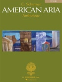 American Aria Anthology. Ténor Partition Recueils - laflutedepan.com