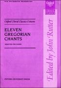 11 Gregorian Chants Partition Chœur - laflutedepan.com