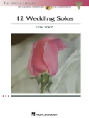 12 Weddings Solos. Voix Grave Partition Recueils - laflutedepan.com