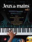 Jeux de Mains. 4 Mains Partition Piano - laflutedepan.com