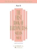 The 1st Book Of Baritone / Bass Solo Volume 2 laflutedepan.com