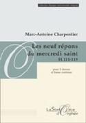Les 9 Répons Du Mercredi Saint H.111-119 laflutedepan.com