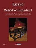 Methode For Harpsichord Enrico Baiano Partition laflutedepan.com