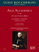 se Non Ti Moro Allato - Luigi Boccherini - laflutedepan.com