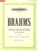 8 Zigeunerlieder Op. 103. Voix Grave - laflutedepan.com