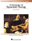 Anthology Of Spanish Song. Voix Grave - laflutedepan.com
