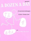 A Dozen A Day Initiation en Français Partition laflutedepan.com