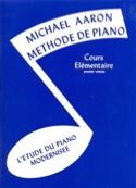 Méthode de Piano Volume 1 Cours Elémentaire AARON laflutedepan.com