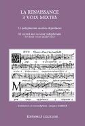 La Renaissance 3 Voix Mixtes Partition Chœur - laflutedepan.com