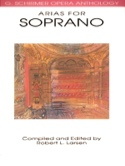 Opera Anthology: Arias Pour Soprano Partition laflutedepan.com