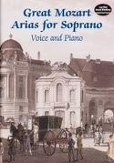 Great Mozart Arias For Soprano MOZART Partition laflutedepan.com