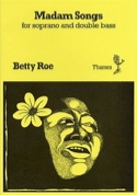 Madam Songs - Betty Roe - Partition - Contrebasse - laflutedepan.com