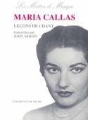 Leçons de Chant. Maria Callas Livre Les Hommes - laflutedepan.com