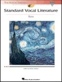 Standard Vocal Literature. Basse - Partition - laflutedepan.com