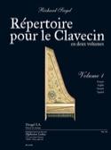 Répertoire Pour le Clavecin. Volume 1 Richard Siegel laflutedepan.com