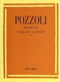Solfeggi Parlati Cantati 1 Ettore Pozzoli Partition laflutedepan.com