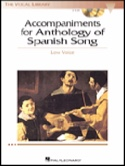 Anthology Of Spanish Song Accompaniment Cd - Low Voice laflutedepan.com