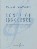 Songs Of Innocence - Pascal Zavaro - Partition - laflutedepan.com