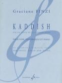 Kaddish Graciane Finzi Partition Violoncelle - laflutedepan.com