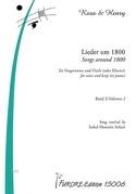 Lieder Um 1800 Für Singstimme Und Harfe (Oder Klavier) Band 2 - laflutedepan.com