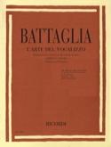 L'arte Del Vocalizzo Elio Battaglia Livre Pédagogie - laflutedepan.com