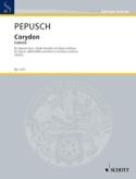 Corydon Johann Christoph Pepusch Partition laflutedepan.com
