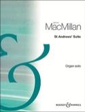 St Andrew's Suite James MacMillan Partition Orgue - laflutedepan.com