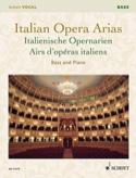 Airs d'opéras italiens. Basse Partition Recueils - laflutedepan.com