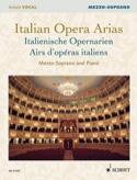 Airs d'opéras italiens. Mezzo-soprano Partition laflutedepan.com