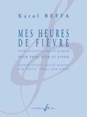 Mes heures de fièvre - Karol Beffa - Partition - laflutedepan.com