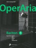 OperAria Baryton. Volume 1 avec CD Partition laflutedepan.com