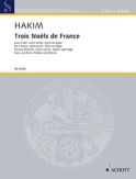 Trois Noels de France Naji Hakim Partition Duos - laflutedepan.com